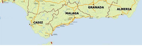 maps of malaga prima rent a car in malaga costa del sol spain