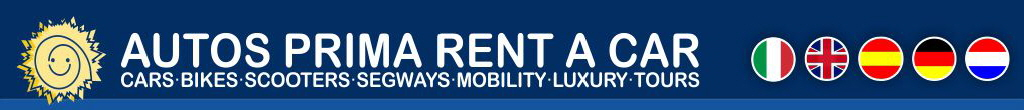 AUTOS PRIMA RENT A CAR : CARS BIKES SEGWAYS MOBILITY LUXURY TOURS